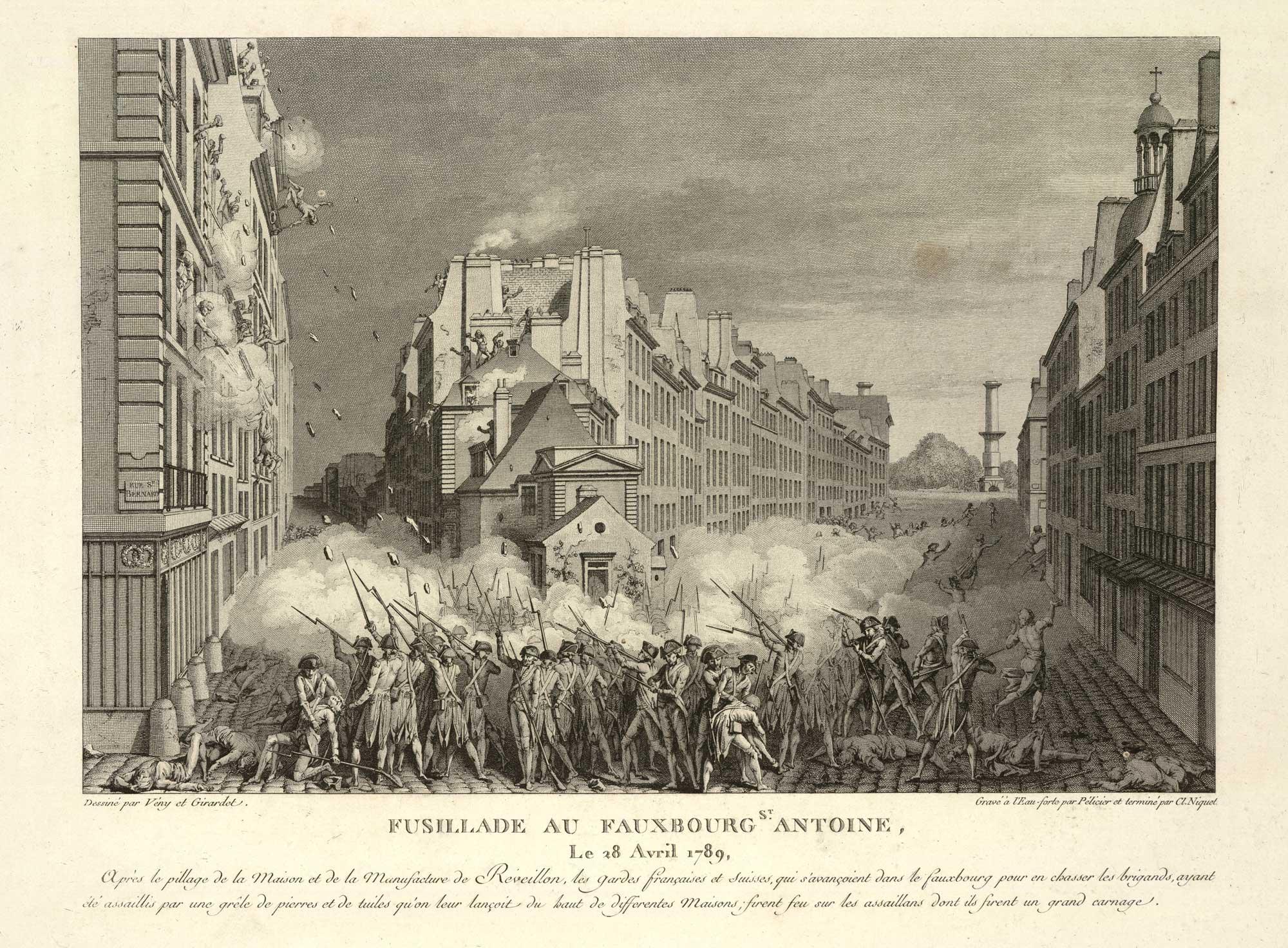 révolution-français-émeutes-affaire-réveillon-fusillade