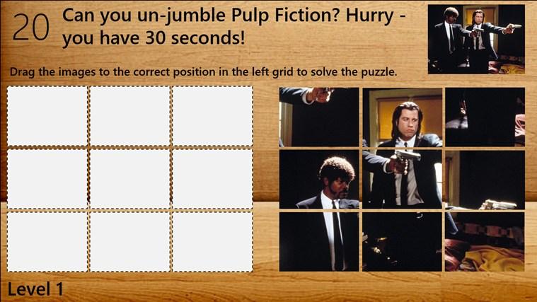 classic movies puzzle